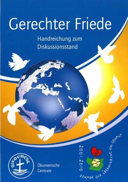 Gerechter Friede - Handreichung zum Diskussionsstand