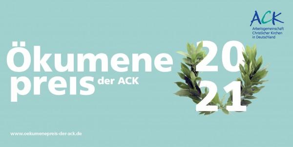 Ökumenepreis der ACK 2021